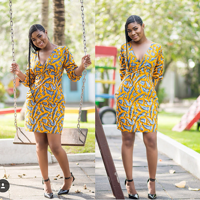 40+ Latest New Ankara Short Gown Styles 2018 for Bright Ladies: African Fashion Trends