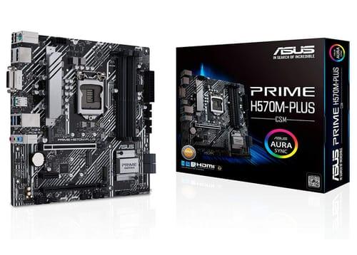 ASUS Prime H570M-PLUS/CSM LGA1200 Motherboard