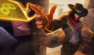 Updated High Noon Twisted Fate Skin