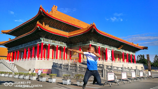 FaceCebu Author with his jumpshot at Chiang Kai Shek Building