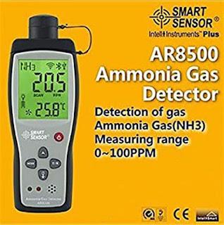 Ammonia NH3 Gas Detector SmartSensor AR8500, Cek Harga 082217294199