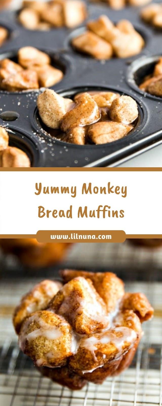 Yummy Monkey Bread Muffins