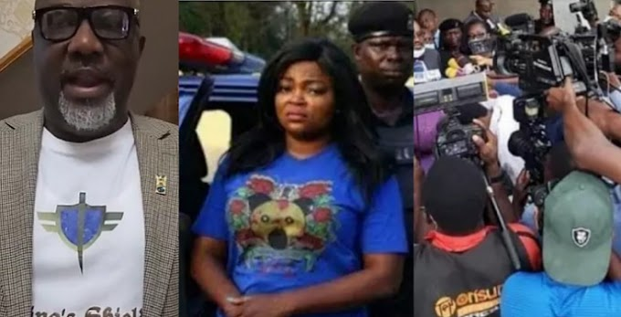 Senator Dino Melaye reacts to Funke Akindele's prosecution