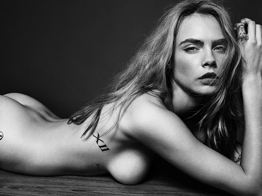 Cara Delevingne nude photo shoot for Esquire UK magazine
