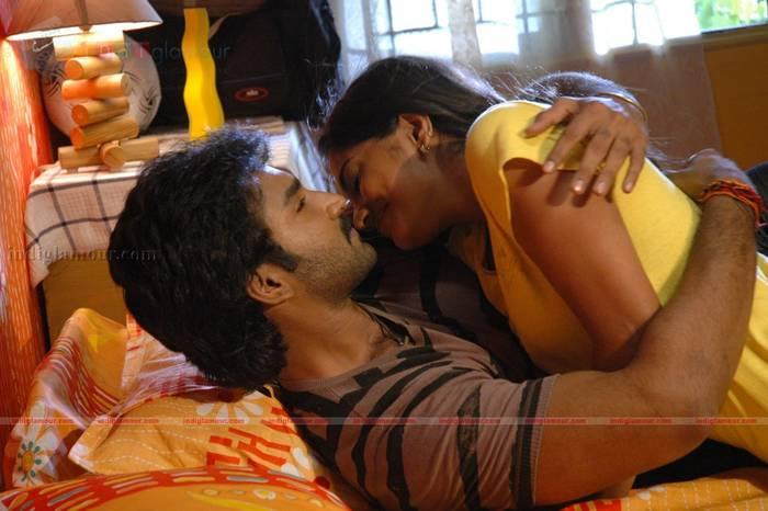 Malayalam Actress Meera Nandan Hot Lip Kiss From Ayyanar Movie Latest Stills