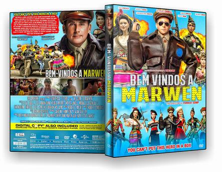 DVD - BEM-VINDOS A MARWEN 2019 - ISO