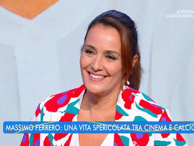 Roberta Capua corteggiata da Massimo Ferrero estate in Diretta 28 luglio