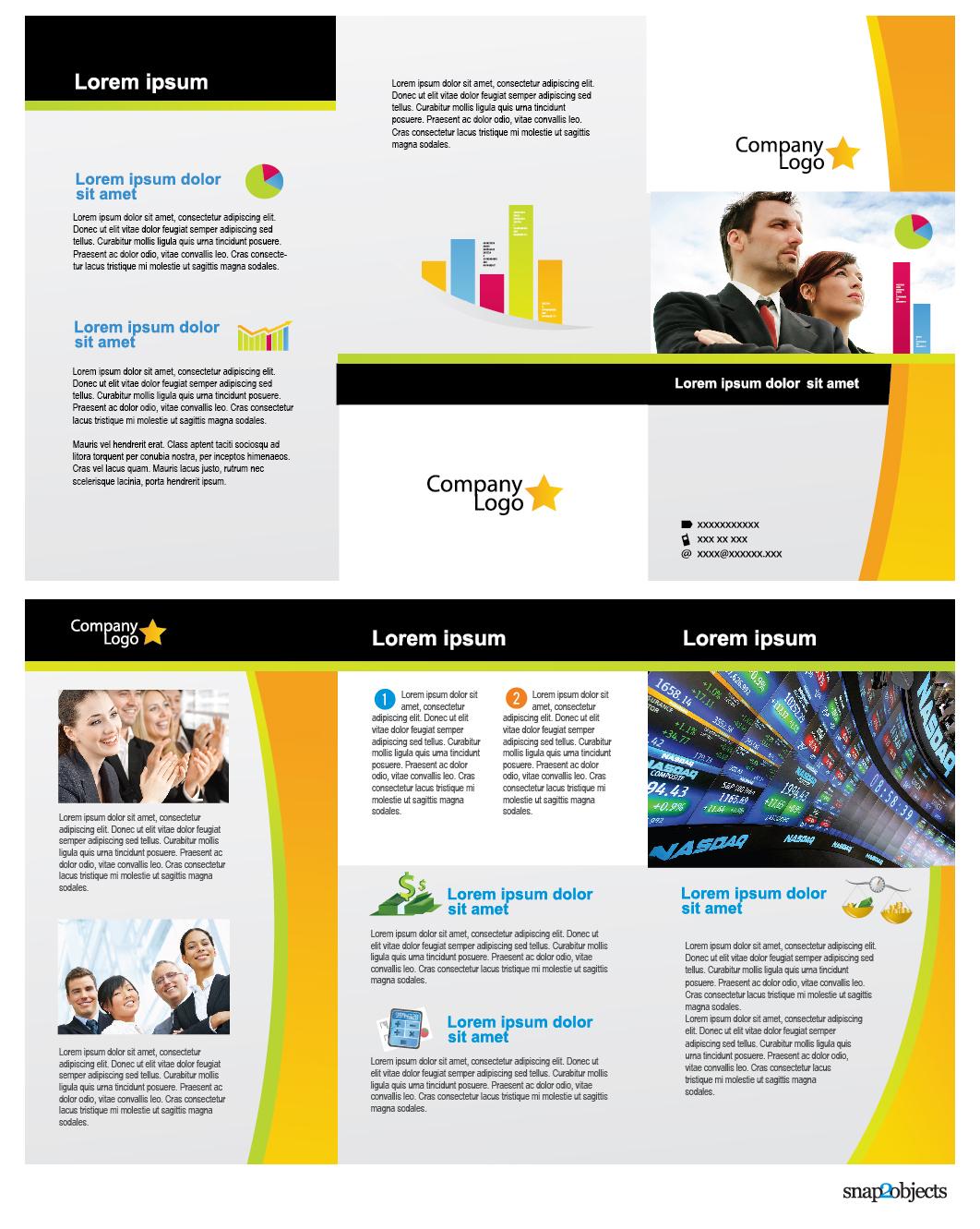 Free Pamphlet Templates free pamphlet template brochure templates – Business Pamphlet Templates