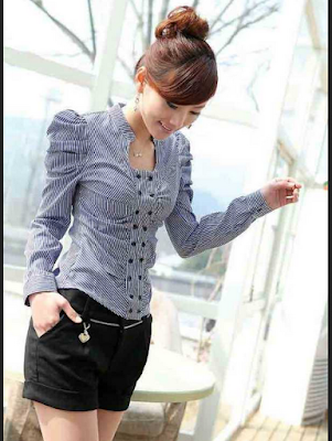 model baju atasan wanita untuk kerja
