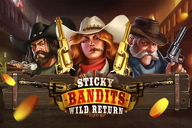 Main Gratis Slot Sticky Bandits: Wild Return(Quickspin)