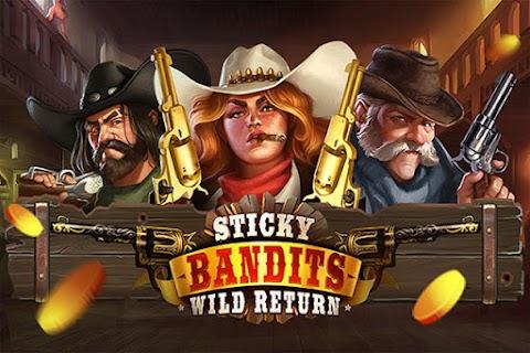 Main Slot Gratis Sticky Bandits: Wild Return (Quickspin) | 96.22% RTP