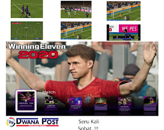 Terbaru Winning Eleven 'WE' Iso PPSSPP 2020 : Full Update Transfer, Camera PS4