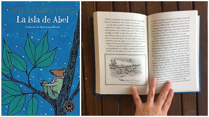 Libro juvenil recomendado La isla de Abel William Steig