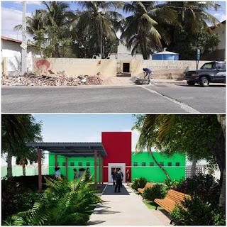 Em Picuí, prédio CAPS está sendo reformado e será entregue a comunidade nos próximos dias