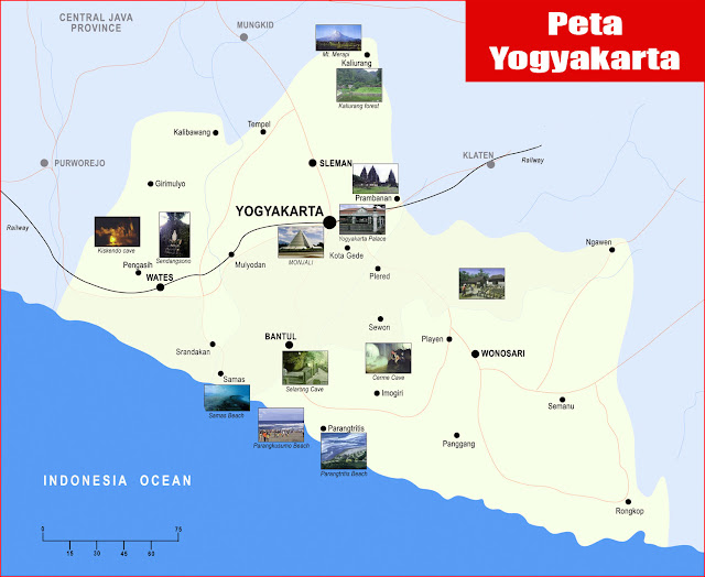 Gambar Peta Yogyakarta