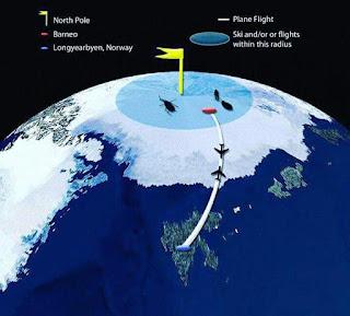 Tahniah Team KE7B Berjaya Takluk Kutub Utara