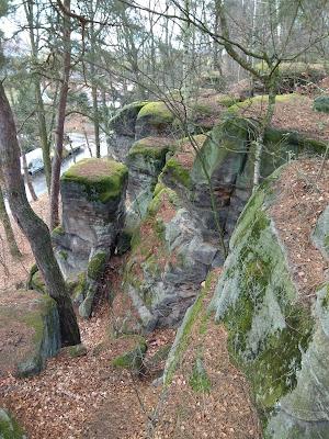 Panieńskie skały w Lwówku Śląskim