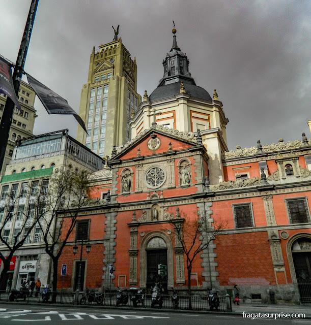 Igreja de las Calatravas, Madri, Espanha