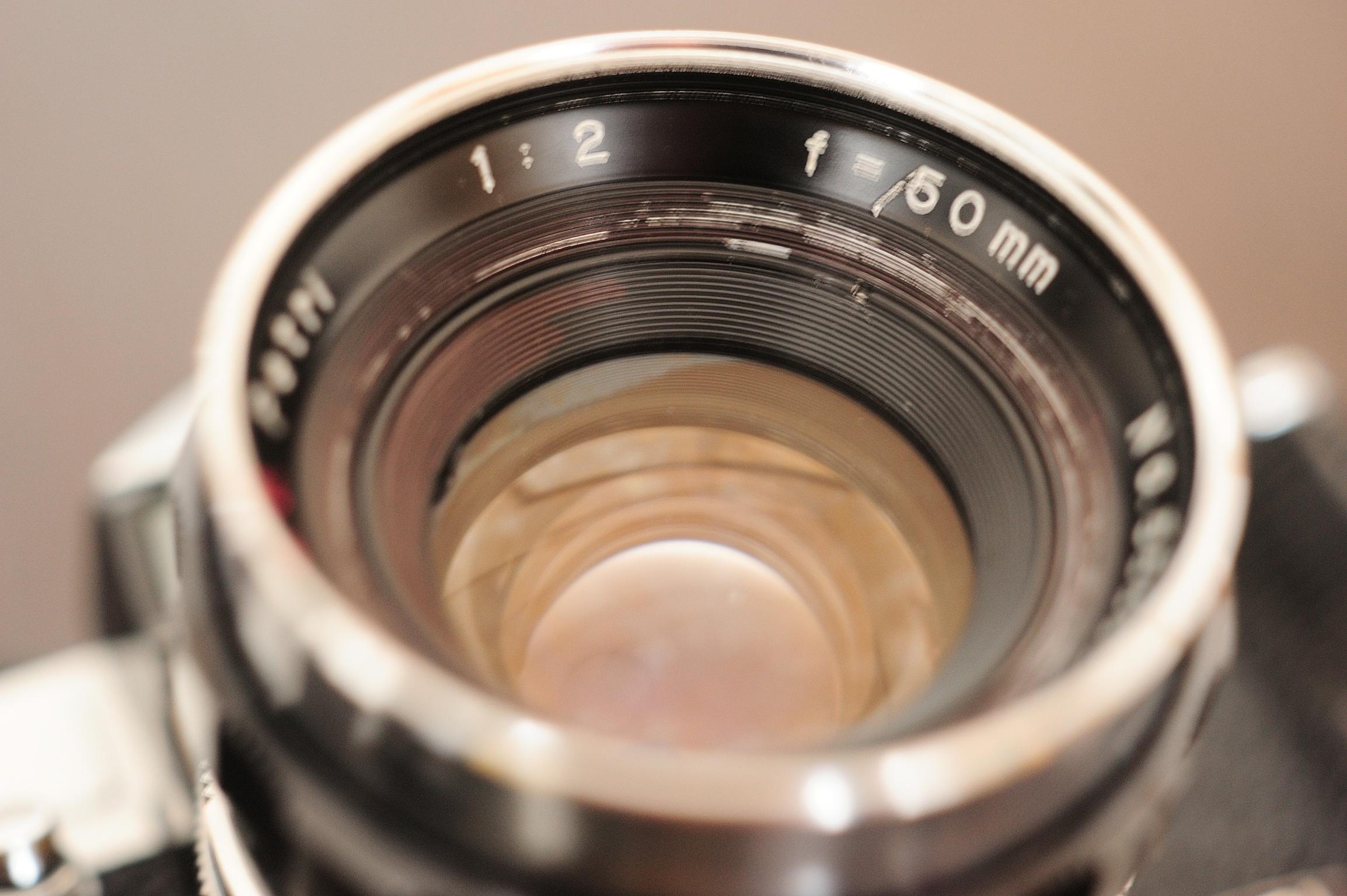 ペトリ 栗林50mmf2