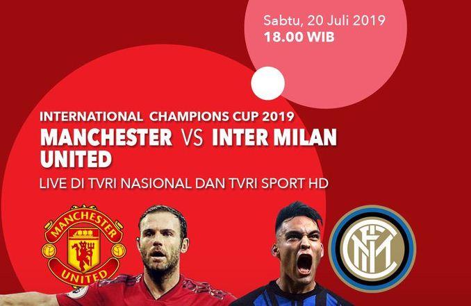 Jadwal Manchester United vs Inter Milan - ICC 2019 Singapura