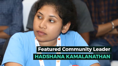 First Woman Community Leader in Srilanka from the C# Corner