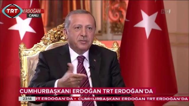 """Η """"χρυσή πολυθρόνα"""" του …αυτοκράτορα Ταγίπ Ερντογάν!"""