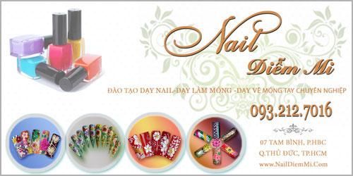 Nail Diễm Mo name card