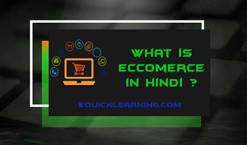 What is E-Commerce in Hindi | E-Commerce Models in Hindi
