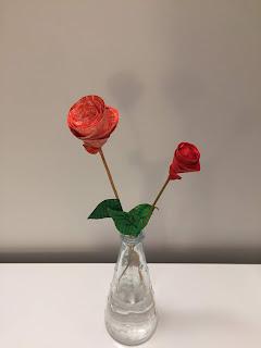 Com podem fer roses de paper?
