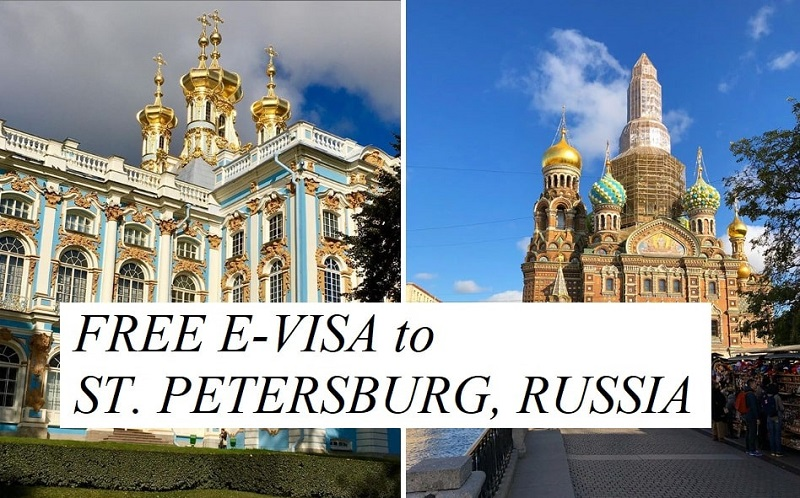 Tourists and businesspeople from 53 countries will be able to visit St. Petersburg on a simplified electronic visa starting this October 1st.
