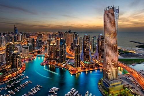 GTA 6 có vẻ lấy bối cảnh ở city Dubai