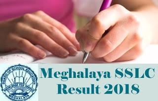 MBOSE Result 2018 Class 10th, MBOSE SSLC 2018 Result, Meghalaya SSLC 2018 Result