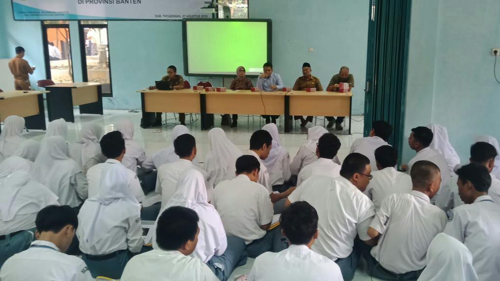 Ditreskrimsus Polda Banten Sosialisasi Antisipasi Kejahatan Dunia Maya Di SMAN 2