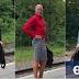 Γερμανία: Στρέιτ πατέρας 3 παιδιών πάει κάθε μέρα στη δουλειά με... φούστα και γόβες (Φωτογραφίες)