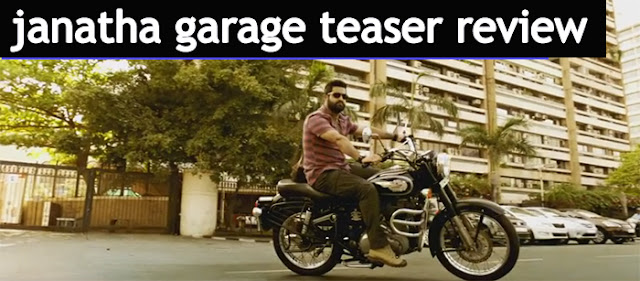 janatha garage Teaser Review