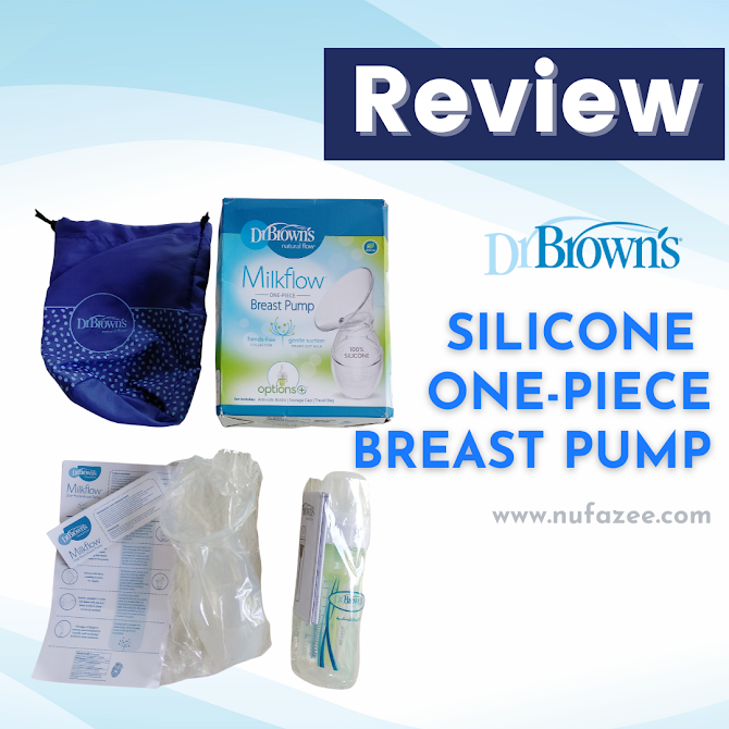 Review Dr Brown's Silicone One-Piece Breast Pump