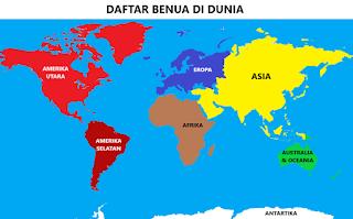 Benua-benua Di Dunia