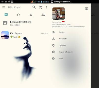 BBM MOD Tema Ralova v3.0.0.18 Apk Terbaru