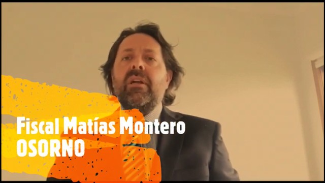 Fiscal de Osorno Matías Montero