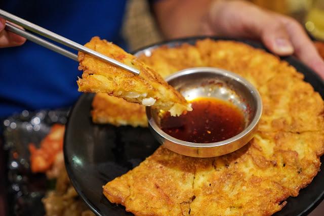 台南安平區美食【瑪西達韓式料理】海鮮煎餅