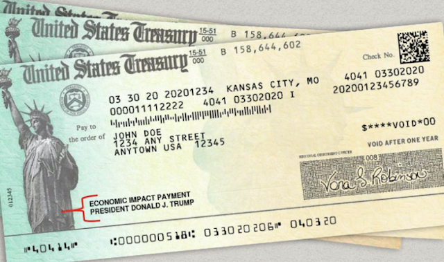 Parece que en realidad Joe Biden  entregará  cheques de estímulo de 2000 dólares