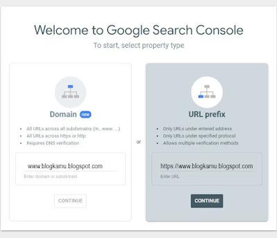 Cara Daftar Blog Ke Google Webmaster
