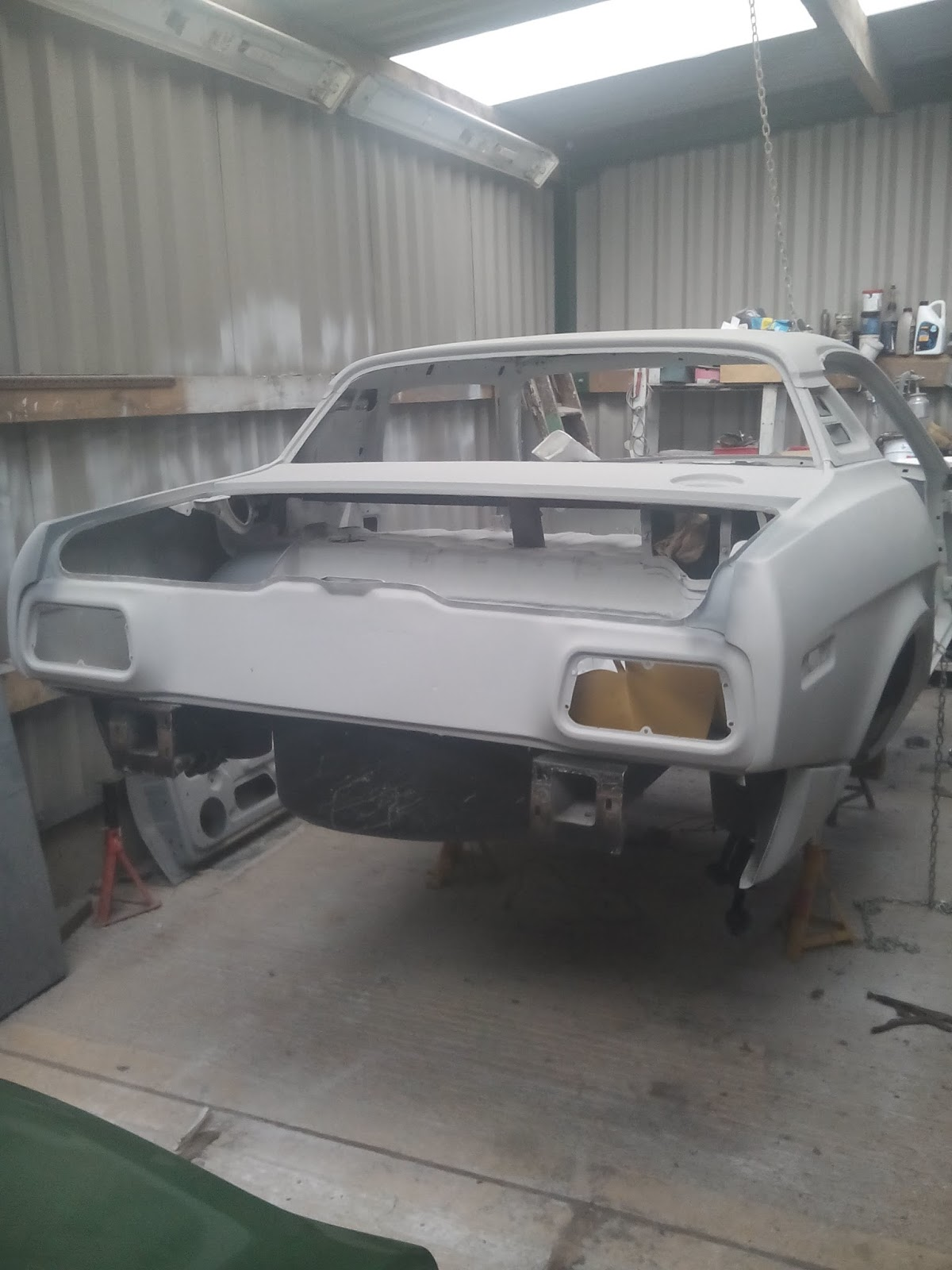 John's Triumph TR7 Restoration: A pivotal moment