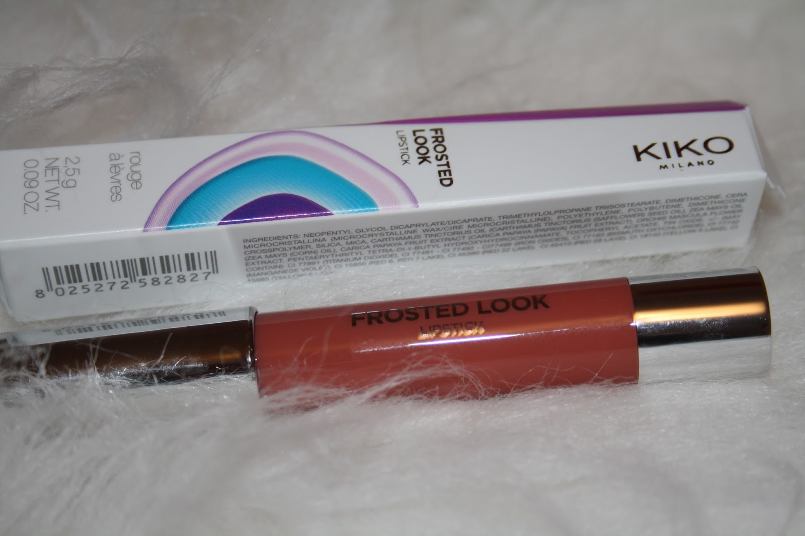 KIKO Frosted Look Lipstick Crayon