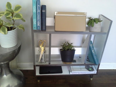 Mid-century modern bookshelf