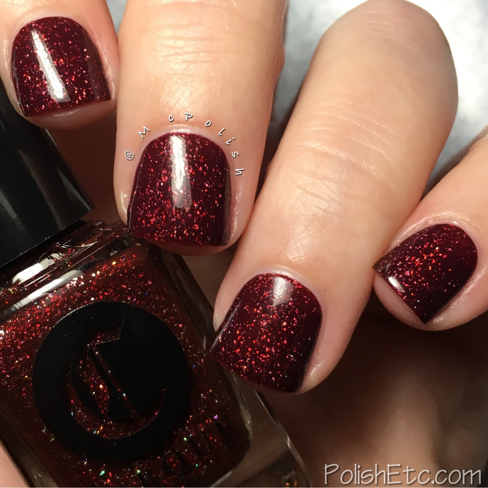 Cirque Colors - Facets Collection - McPolish - Garnet