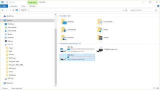 ESP Drive Windows 10