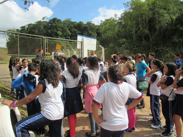 Alunos da EMEF Anna Pinto participam do Programa Educacional da Secretaria de Meio Ambiente