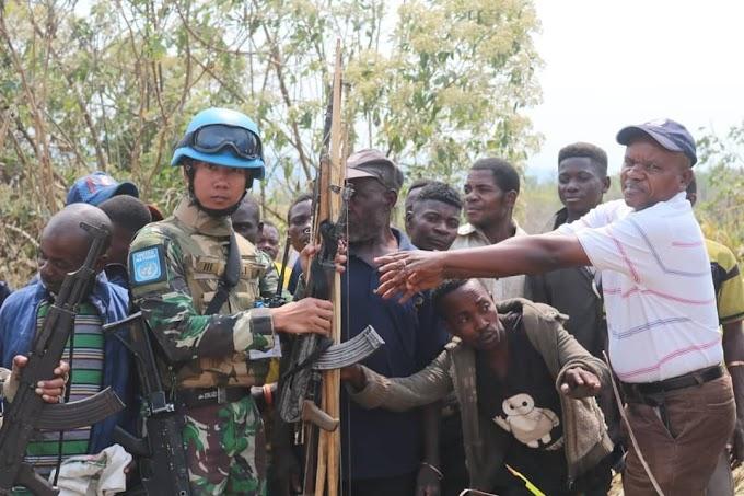 Operasi Jaring Laba-Laba TNI Kembali Tarik Simpati Masyarakat di Kongo
