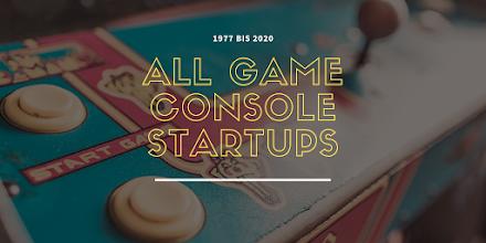 Konsolen Intro Supercut | All Game console startups 1977-2020
